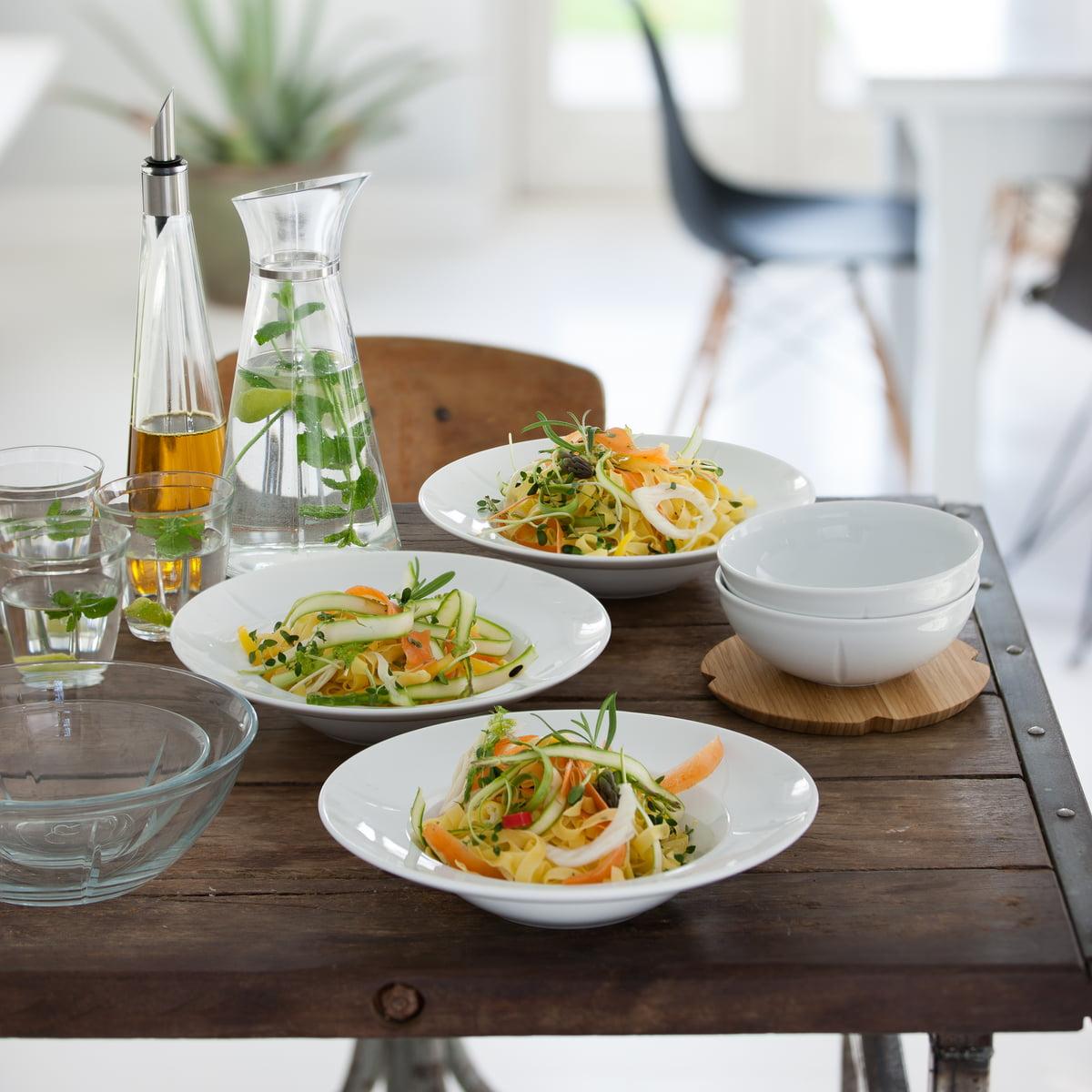 grand cru soft pastatallerken fra rosendahl. Black Bedroom Furniture Sets. Home Design Ideas