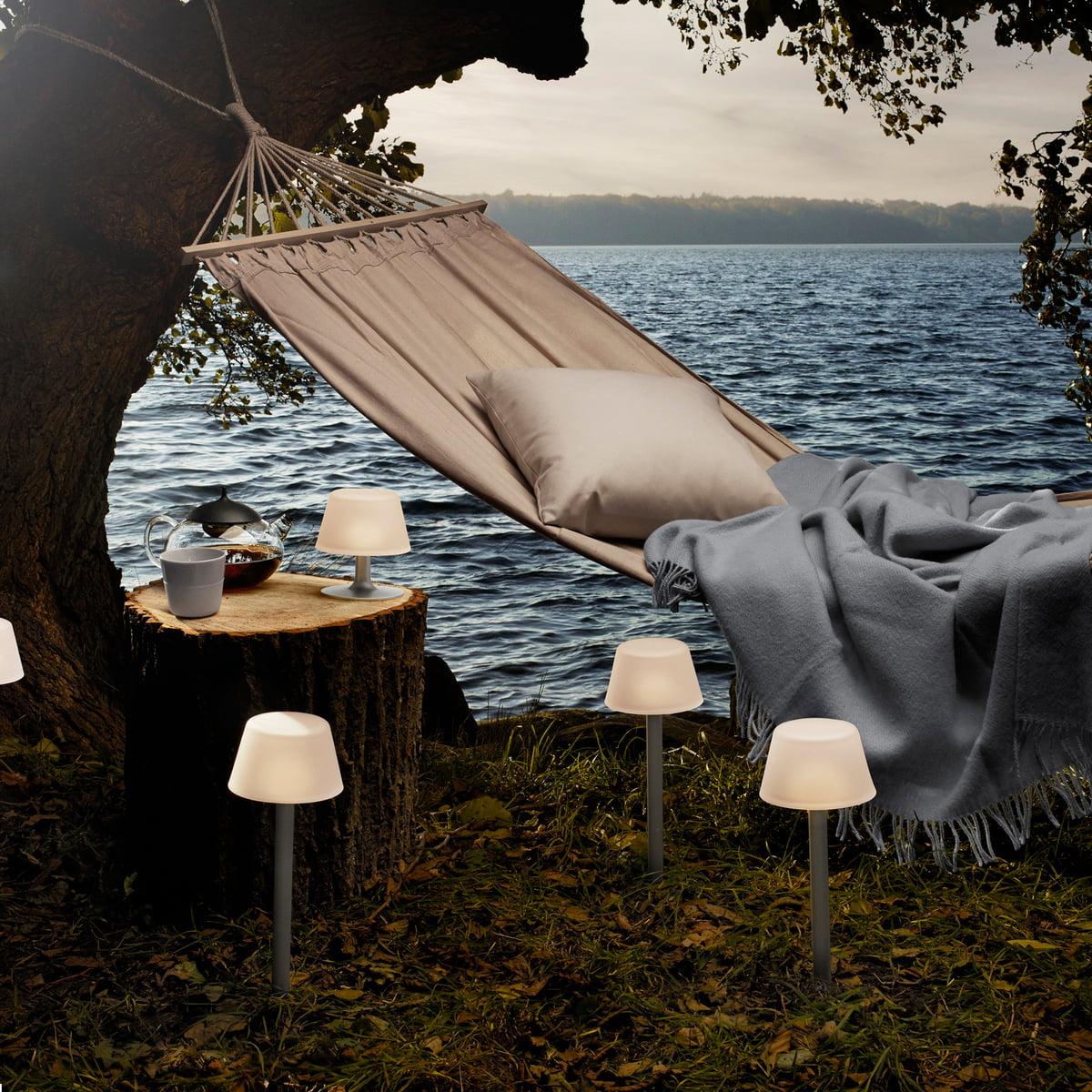 sunlight solcellelampe fra eva solo. Black Bedroom Furniture Sets. Home Design Ideas