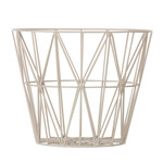 ferm Living – Wire Basket, medium, grå